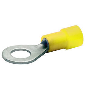 Наконечник кольцевой 4-6 мм2 болт 4 медный луженый с изоляцией BM00319 (уп. 50 шт.)