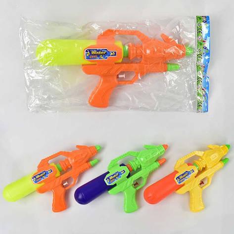 Водный пистолет 6603 (192/2) 3 цвета, 1шт в кульке, фото 2
