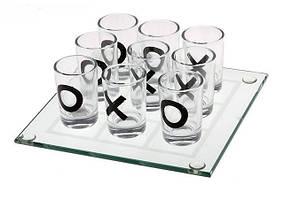 Алкогольная игра крестики - нолики (22х22 см)