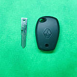 Ключ Рено Renault 2 кнопки лезвие VAC102 PCF7947 ID46 434Mhz., фото 2