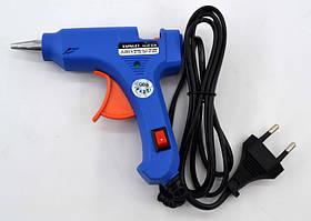 Термопистолет клеевой для силиконового клея Xunlei XL-E20 20W | Пистолет для клея
