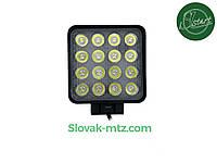 Светодиодная LED фара рабочая 48Вт,(3Вт*16ламп)