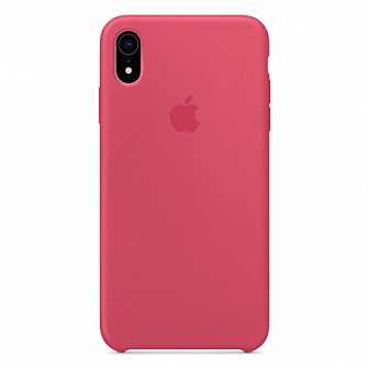 """Apple silicon case iPhone XR """" Hibiscus """""""