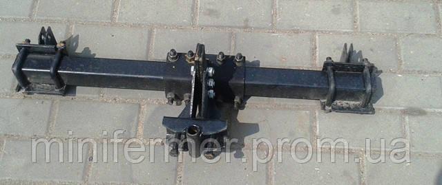 Сцепка двойная ЗПС-2 для мотоблоков