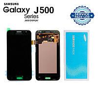 Дисплей + сенсор Samsung J500 Galaxy J5 Черный Оригинал 100% SERVICE PACK GH97-17667B