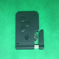 Смарт карта ключ RENAULT (Рено) Scenic ,Grand Scenic II  3 -кнопки, 433 Mhz
