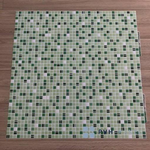 Пластиковая Декоративная Панель ПВХ Кофе Зеленый 956*480мм
