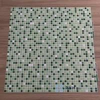 Пластиковая Декоративная Панель ПВХ Кофе Зеленый 956*480мм, фото 1