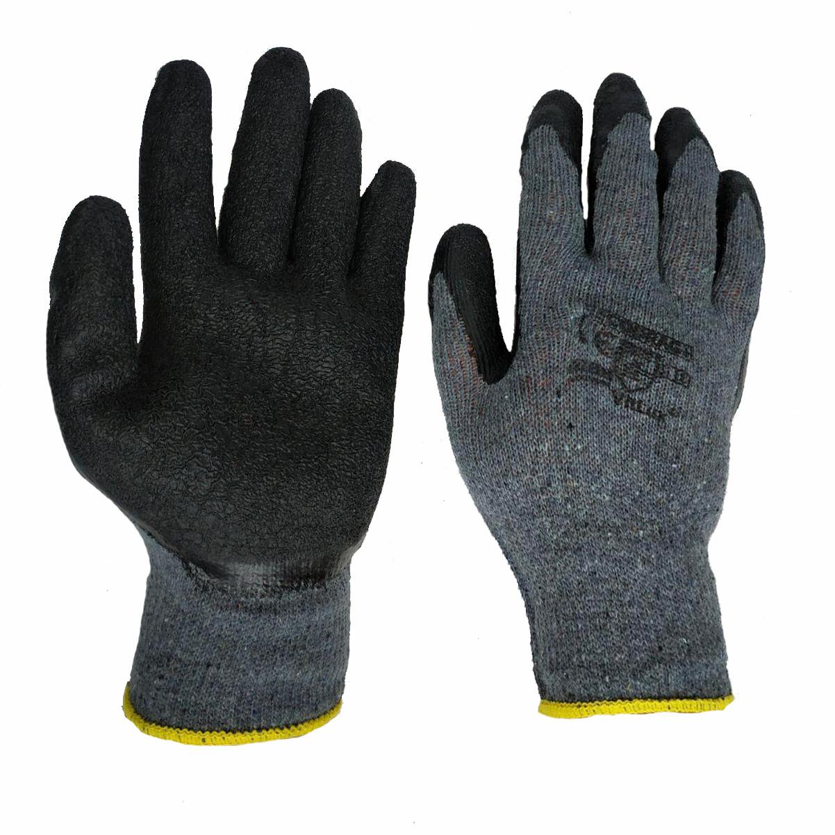 Перчатки рабочие из полимерных материалов REGODRAG, вспененный нитрил, № 10, уп. — 12 пар