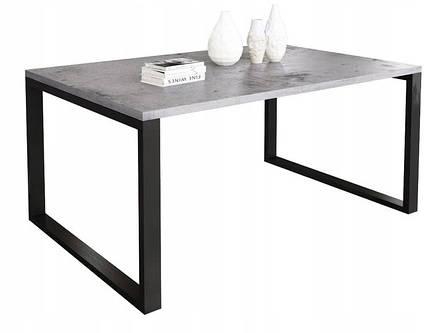 Журнальный стол в стиле лофт Ergo, Gray, фото 2