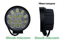 Светодиодная LED фара рабочая 42W/60° 42 Вт,.(3Вт*14ламп)
