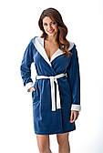 Халат жіночий DOROTA FR-131 синій, розмір S
