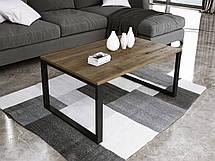 Журнальный стол в стиле лофт Ergo, Dark oak, фото 2