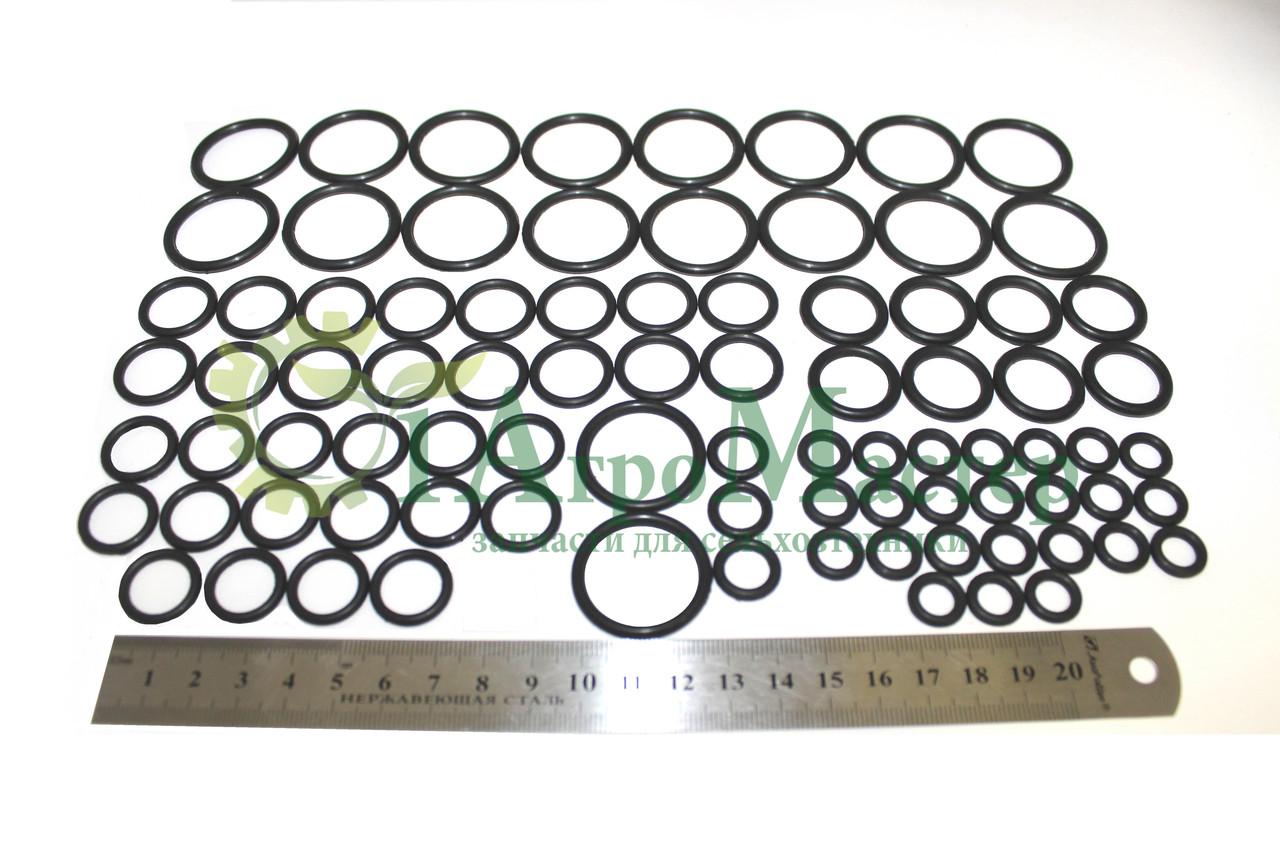 Ремкомплект гидрораспределителя 8-секц.(кольцо-85 шт.) 8РМ50-25 Нива, СК-5М1, Дон