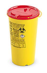 Контейнер для сбора иголок и медицинских отходов 1л