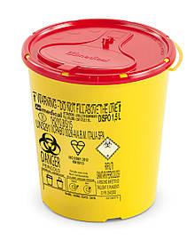 Контейнер для сбора иголок и медицинских отходов 1,5л