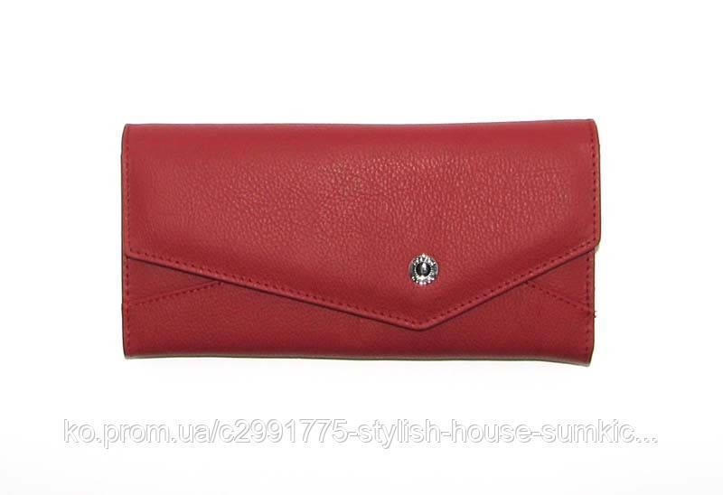Кошелек женский кожаный Boston 212 Red