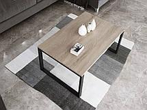 Журнальный стол в стиле лофт Ergo, Beige, фото 3