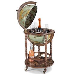 Глобус бар напольный Zoffoli, Италия «Миневра» (Laduna), h-110см, d -40см (248-0003)
