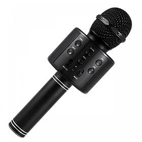 Микрофон DM Караоке WS858  Черный
