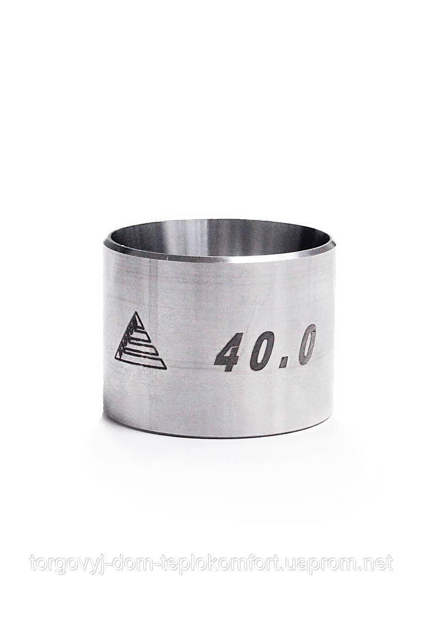 Гильза надвижная, нержавеющая сталь 75 диаметр