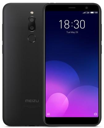 """Смартфон Meizu M6T 2/16GB Black Global, 13+2/8Мп, 8 ядер, 2sim, экран 5.7"""" IPS, 3300mAh, GPS, 4G"""