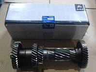 """Вал промежуточный КПП ГАЗ 3302 5-ст. без подш. (блок шестерен) (пр-во """"ГАЗ"""")"""