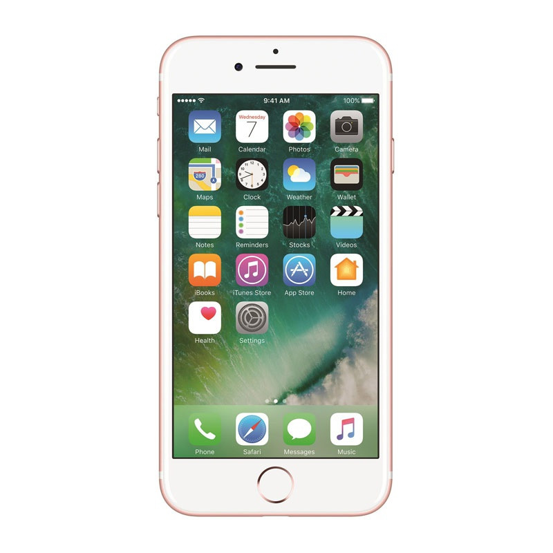 Смартфон Apple iPhone 7 128Гб (rose gold) Refurbished neverlock (айфон неверлок оригинал)