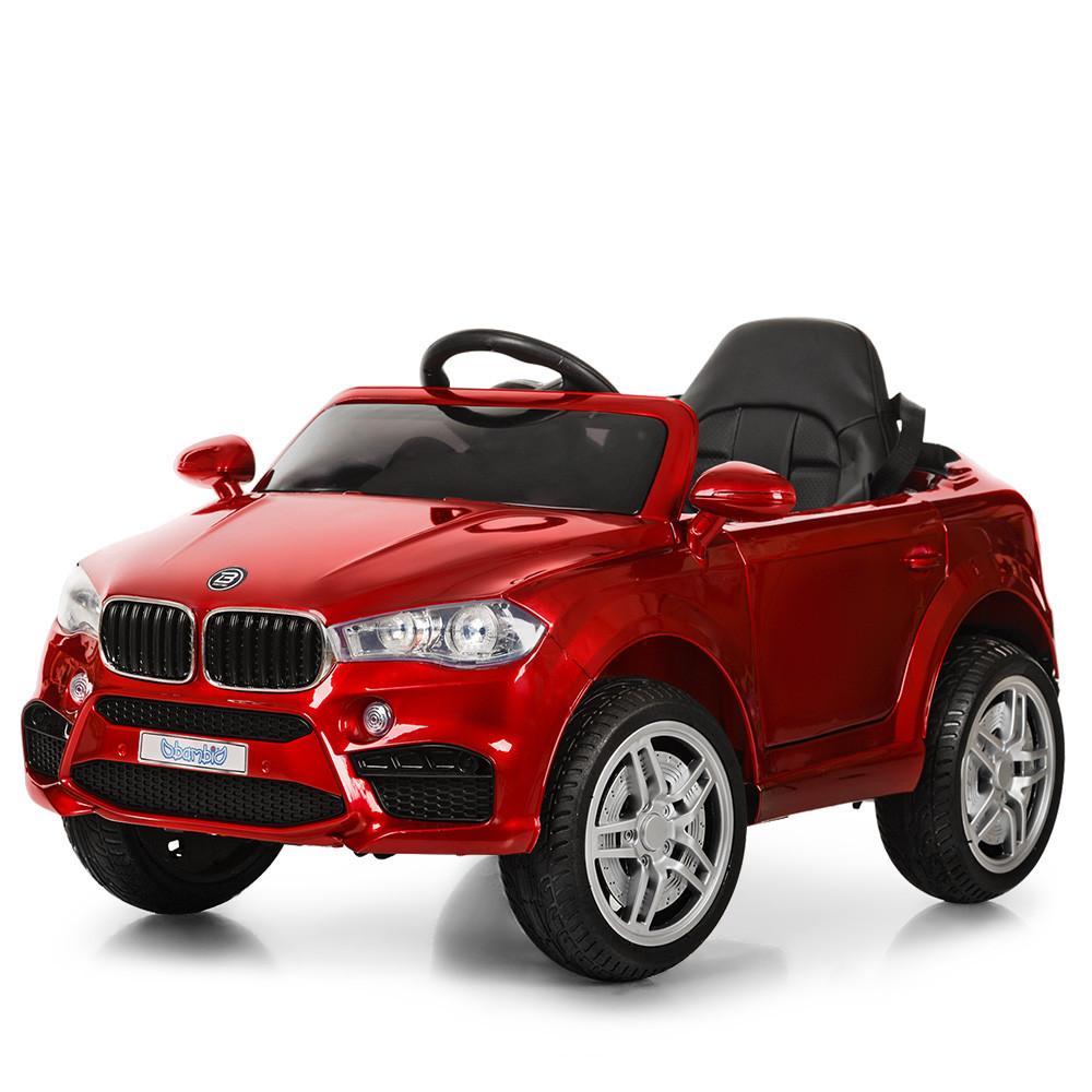 Электромобиль Машина M 3180EBLRS-3 красный BAMBI