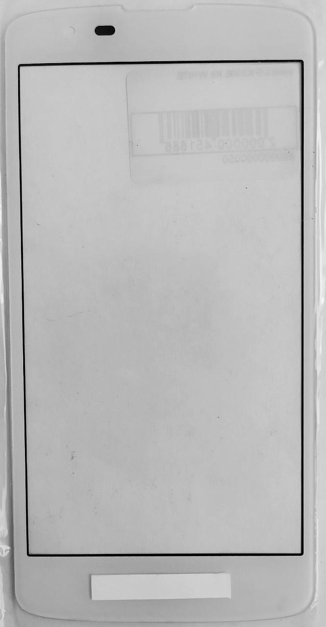 Стекло модуля для LG K10 k430 White