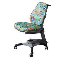 Ортопедический стул детский купить с бесплатной доставкой KY-618 Comf-Pro green soccer футбол