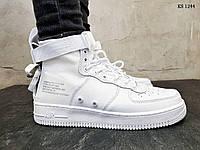 Мужские Кроссовки Nike SF Air Force 1 Mid (белые), фото 1