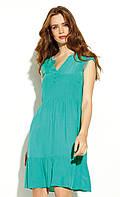 Летнее платье с коротким рукавом зеленого цвета. Модель Kalidea Zaps, коллекция весна-лето 2020., фото 1