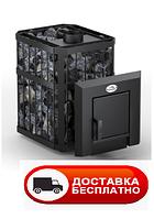 """Печь для сауны """"Пруток"""" Новаслав 12м3 с выносным топливным каналом"""