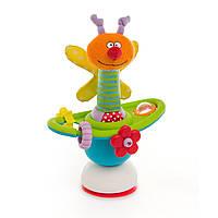 Развивающая игрушка для малыша Цветочная Карусель на присоске Taf Toys