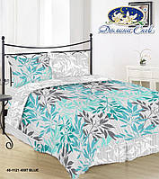 Постельное белье из бязи (Голд) Полуторное 40-1121 blue