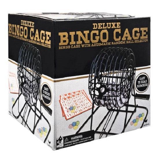 Настольная игра «Бинго делюкс» с лототроном SM98375/6033152 Spin Master