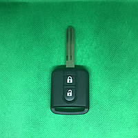 Ключ для Nissan (Ниссан) Qashqai  2 кнопки 433 Mhz с чипом ID 46