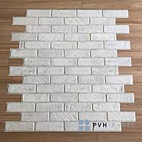 Пластиковая Декоративная Панель ПВХ Регул Старый серый 971*489 мм
