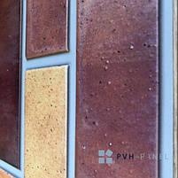 Пластиковая Декоративная Панель ПВХ Регул Терракота 983*497 мм, фото 3