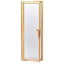 Дверь для бани и сауны Tesli UNO Silvit  1900 х 700, фото 5