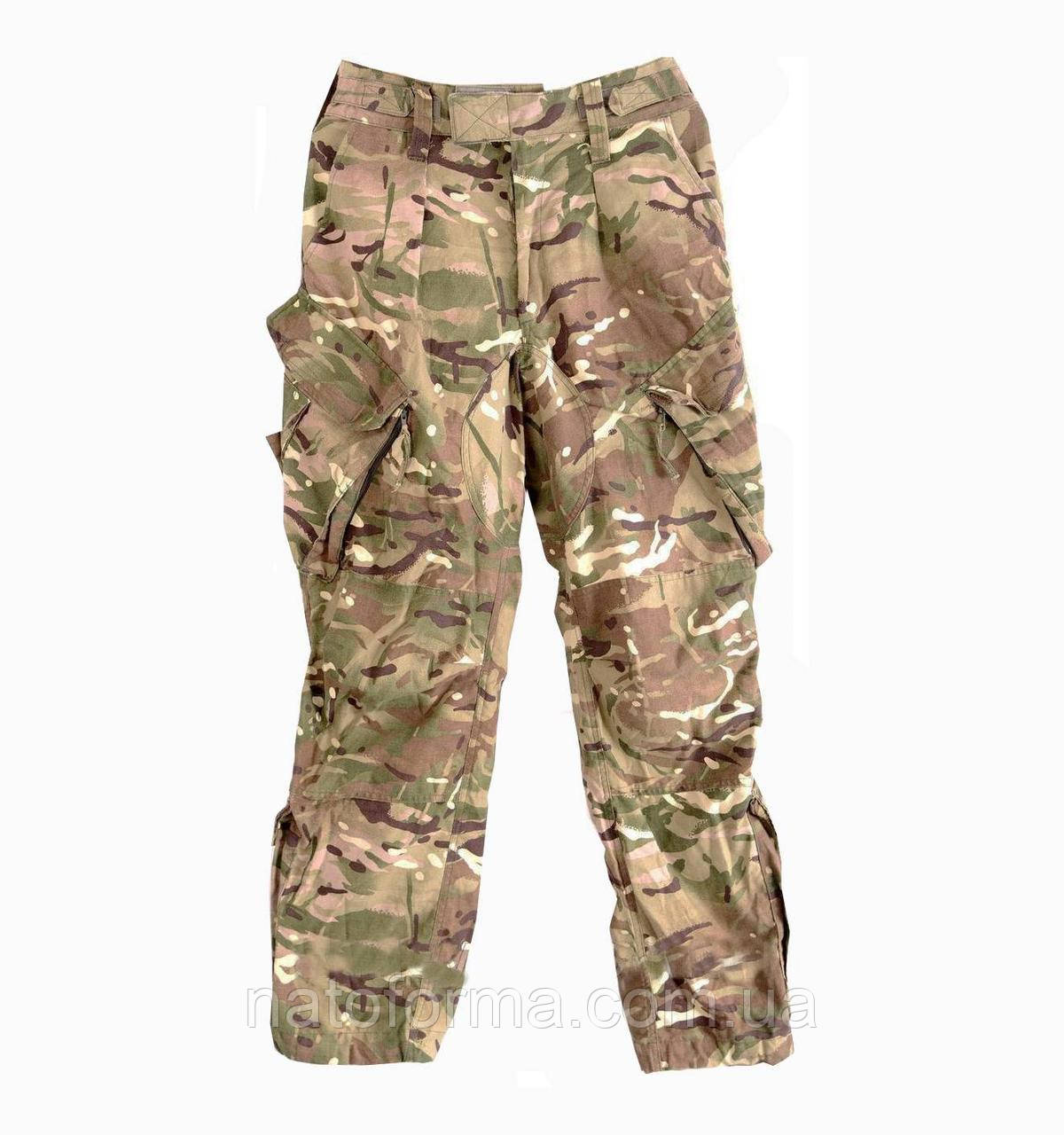 Огнеупорные брюки армии Великобритании Trousers Combat FR for Air Crew, б/у