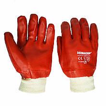 Перчатки нитриловые маслобензостойкие, Dermagrip, уп. — 12 пар