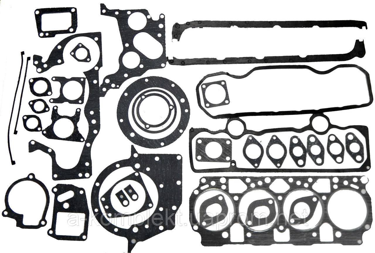 Набір прокладок двигуна (повний) (28 найменувань) д-240 з пароніту