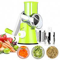 Многофункциональная овощерезка мультислайсер для овощей и фруктов Kitchen Master ручная для быстрой нарезки