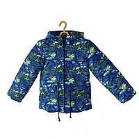 Демисезонная куртка на мальчика ANSK 98 голубая 2231000D