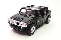 Машинка KINSMART Hummer H2 черная