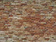 Фотофон виниловый  Кирпичная стена 1000*1000мм(vf434)