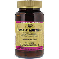 Витамины и минералы для женщин (Female Multiple) 120 таблеток