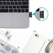 Mini Bluetooth адаптер Lesko CSR USB 4.0 USB блютуз 4.0 беспроводной, фото 3